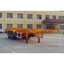 Skeleton semi trailer ,container transport semi trailer from China